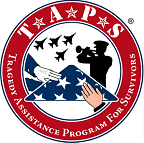 Tragedy Assistance Program for Survivors (TAPS) logo
