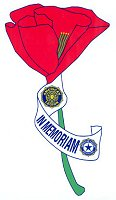 American Legion Auxiliary poppy graphic